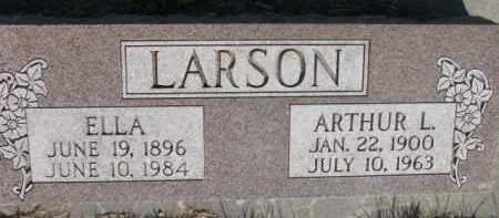 LARSON, ARTHUR L. - Dodge County, Nebraska | ARTHUR L. LARSON - Nebraska Gravestone Photos