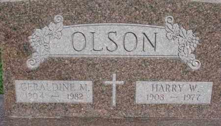 LARSON, GERALDINE M. - Dodge County, Nebraska | GERALDINE M. LARSON - Nebraska Gravestone Photos