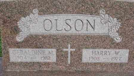 LARSON, HARRY W. - Dodge County, Nebraska | HARRY W. LARSON - Nebraska Gravestone Photos