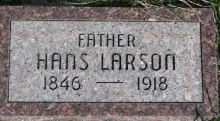 LARSON, HANS - Dodge County, Nebraska   HANS LARSON - Nebraska Gravestone Photos