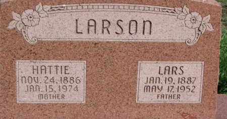 LARSON, HATTIE - Dodge County, Nebraska | HATTIE LARSON - Nebraska Gravestone Photos