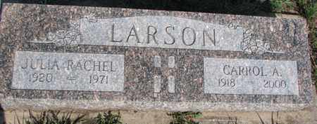 LARSON, CARROL A. - Dodge County, Nebraska | CARROL A. LARSON - Nebraska Gravestone Photos