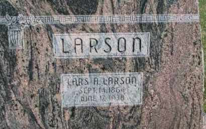 LARSON, LARS A. - Dodge County, Nebraska | LARS A. LARSON - Nebraska Gravestone Photos