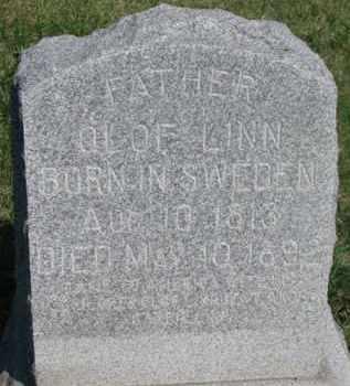 LINN, OLOF - Dodge County, Nebraska | OLOF LINN - Nebraska Gravestone Photos