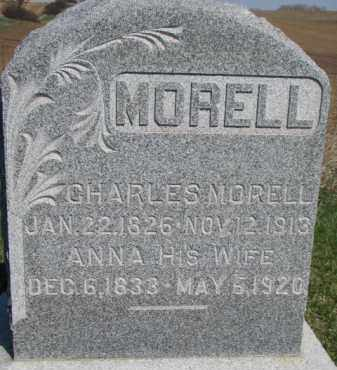 MORELL, CHARLES - Dodge County, Nebraska | CHARLES MORELL - Nebraska Gravestone Photos