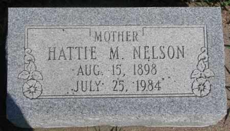 NELSON, HATTIE M. - Dodge County, Nebraska | HATTIE M. NELSON - Nebraska Gravestone Photos