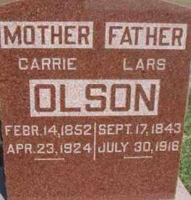 OLSON, CARRIE - Dodge County, Nebraska   CARRIE OLSON - Nebraska Gravestone Photos