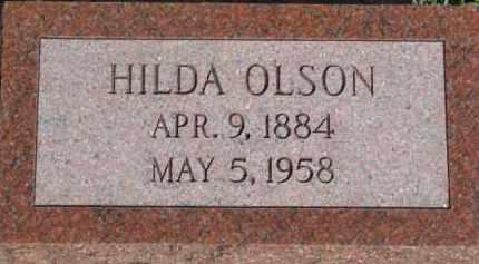 OLSON, HILDA - Dodge County, Nebraska | HILDA OLSON - Nebraska Gravestone Photos