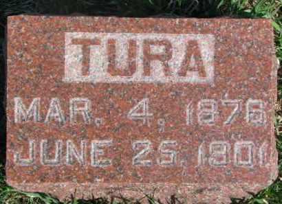 PETERSON, TURA - Dodge County, Nebraska | TURA PETERSON - Nebraska Gravestone Photos