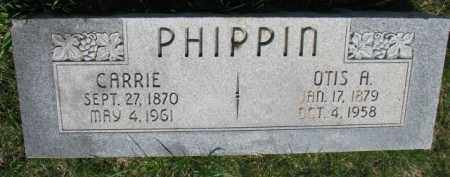 PHIPPIN, OTIS A. - Dodge County, Nebraska | OTIS A. PHIPPIN - Nebraska Gravestone Photos