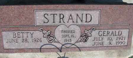STRAND, BETTY - Dodge County, Nebraska | BETTY STRAND - Nebraska Gravestone Photos