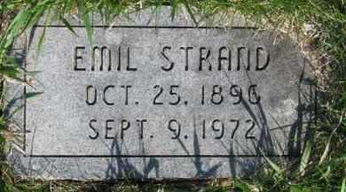STRAND, EMIL - Dodge County, Nebraska | EMIL STRAND - Nebraska Gravestone Photos