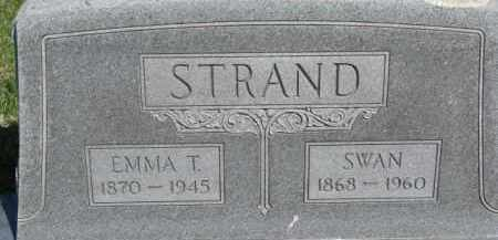 STRAND, EMMA T. - Dodge County, Nebraska | EMMA T. STRAND - Nebraska Gravestone Photos