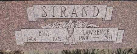 STRAND, LAWRENCE - Dodge County, Nebraska | LAWRENCE STRAND - Nebraska Gravestone Photos