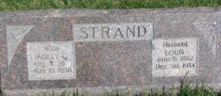 STRAND, LOUIS - Dodge County, Nebraska | LOUIS STRAND - Nebraska Gravestone Photos