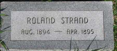 STRAND, ROLAND - Dodge County, Nebraska | ROLAND STRAND - Nebraska Gravestone Photos