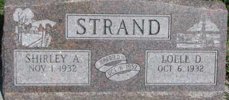 STRAND, SHIRLEY A. - Dodge County, Nebraska | SHIRLEY A. STRAND - Nebraska Gravestone Photos