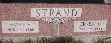 STRAND, ERNEST C. - Dodge County, Nebraska | ERNEST C. STRAND - Nebraska Gravestone Photos