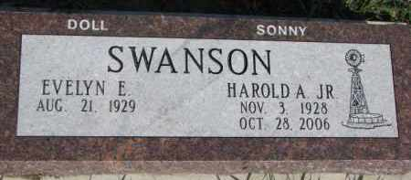 SWANSON, HAROLD A. JR. - Dodge County, Nebraska | HAROLD A. JR. SWANSON - Nebraska Gravestone Photos
