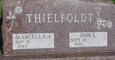 THIELFOLDT, DON L. - Dodge County, Nebraska | DON L. THIELFOLDT - Nebraska Gravestone Photos