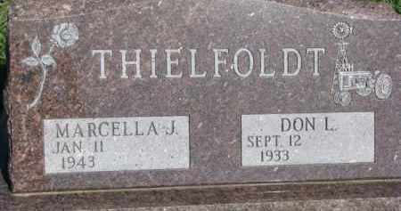 THIELFOLDT, MARCELLA J. - Dodge County, Nebraska | MARCELLA J. THIELFOLDT - Nebraska Gravestone Photos