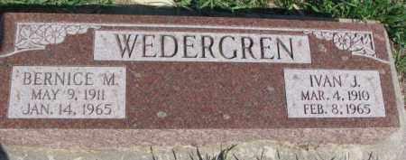 WEDERGREN, IVAN J. - Dodge County, Nebraska   IVAN J. WEDERGREN - Nebraska Gravestone Photos