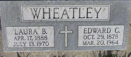 WHEATLEY, EDWARD C. - Dodge County, Nebraska | EDWARD C. WHEATLEY - Nebraska Gravestone Photos