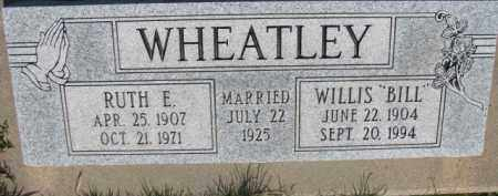 "WHEATLEY, WILLIS ""BILL"" - Dodge County, Nebraska 