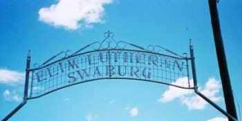 * SWABURG ELIM LUTHERAN, WELCOME SIGN - Dodge County, Nebraska | WELCOME SIGN * SWABURG ELIM LUTHERAN - Nebraska Gravestone Photos