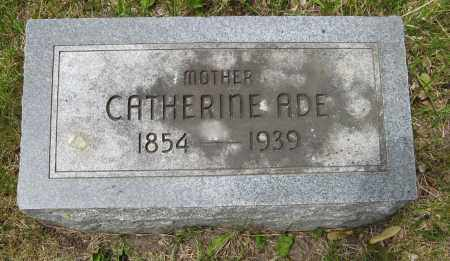 ADE, CATHERINE - Dodge County, Nebraska   CATHERINE ADE - Nebraska Gravestone Photos