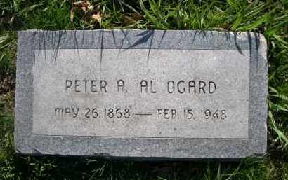 OGARD, PETER A. AL - Dodge County, Nebraska | PETER A. AL OGARD - Nebraska Gravestone Photos
