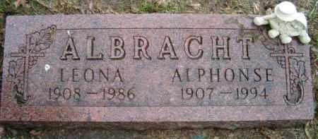 ALBRACHT, LEONA - Dodge County, Nebraska | LEONA ALBRACHT - Nebraska Gravestone Photos