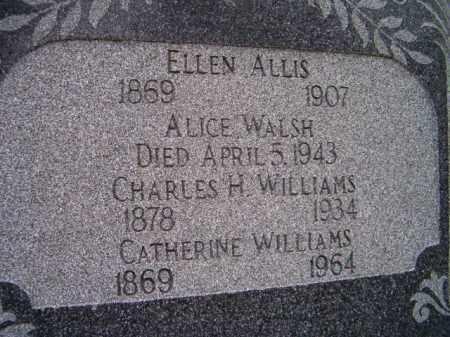 WALSH ALLIS, ELLEN - Dodge County, Nebraska   ELLEN WALSH ALLIS - Nebraska Gravestone Photos