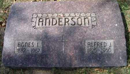 ANDERSON, AGNES L. - Dodge County, Nebraska | AGNES L. ANDERSON - Nebraska Gravestone Photos