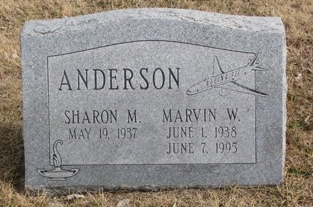 ANDERSON, SHARON M. - Dodge County, Nebraska | SHARON M. ANDERSON - Nebraska Gravestone Photos
