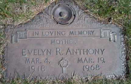 ANTHONY, EVELYN RUTH - Dodge County, Nebraska | EVELYN RUTH ANTHONY - Nebraska Gravestone Photos