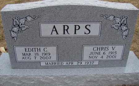 ARPS, EDITH C. - Dodge County, Nebraska | EDITH C. ARPS - Nebraska Gravestone Photos