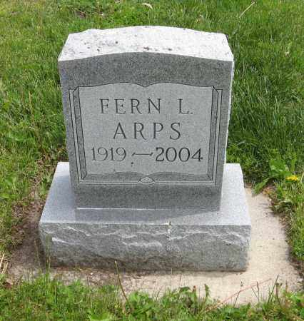 ARPS, FERN L. - Dodge County, Nebraska | FERN L. ARPS - Nebraska Gravestone Photos