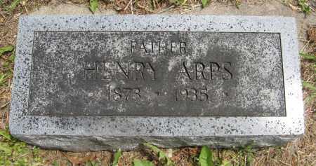 ARPS, HENRY - Dodge County, Nebraska | HENRY ARPS - Nebraska Gravestone Photos