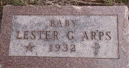 ARPS, LESTER G. - Dodge County, Nebraska | LESTER G. ARPS - Nebraska Gravestone Photos