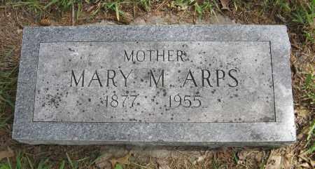 ARPS, MARY M. - Dodge County, Nebraska   MARY M. ARPS - Nebraska Gravestone Photos