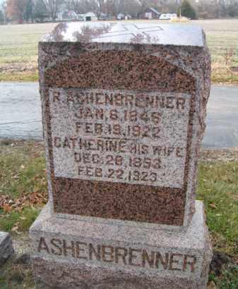 ASHENBRENNER, CATHERINE - Dodge County, Nebraska   CATHERINE ASHENBRENNER - Nebraska Gravestone Photos