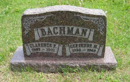 BACHMAN, CLARENCE F. - Dodge County, Nebraska | CLARENCE F. BACHMAN - Nebraska Gravestone Photos