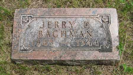 BACHMAN, JERRY D. - Dodge County, Nebraska | JERRY D. BACHMAN - Nebraska Gravestone Photos