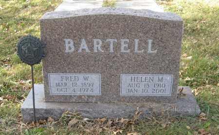 BARTELL, HELEN M. - Dodge County, Nebraska | HELEN M. BARTELL - Nebraska Gravestone Photos