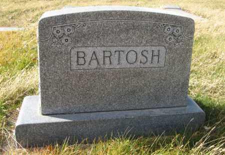 BARTOSH, (FAMILY MONUMENT) - Dodge County, Nebraska | (FAMILY MONUMENT) BARTOSH - Nebraska Gravestone Photos