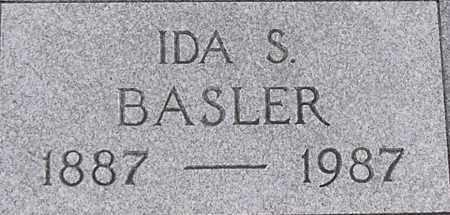 BASLER, IDA - Dodge County, Nebraska | IDA BASLER - Nebraska Gravestone Photos
