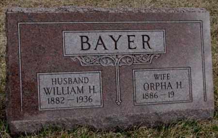 BAYER, WILLIAM H. - Dodge County, Nebraska | WILLIAM H. BAYER - Nebraska Gravestone Photos