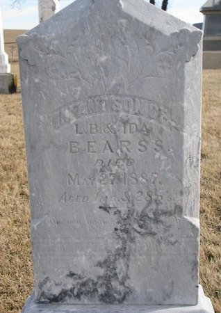 BEARSS, INFANT SON - Dodge County, Nebraska   INFANT SON BEARSS - Nebraska Gravestone Photos