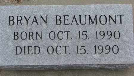 BEAUMONT, BRYAN - Dodge County, Nebraska | BRYAN BEAUMONT - Nebraska Gravestone Photos